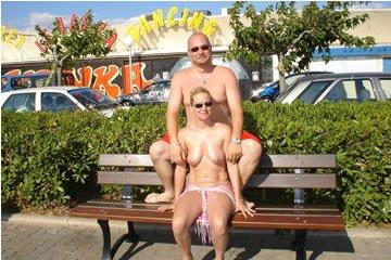 Sexy album of a nudist couple