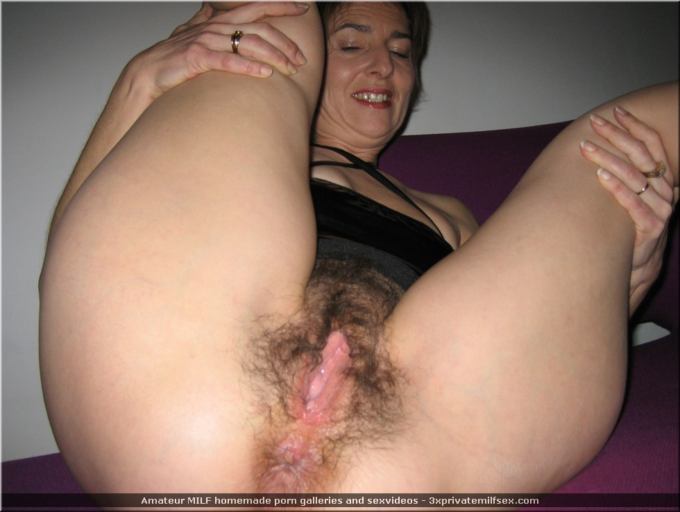 real amateur homemade hairy milf wife mom